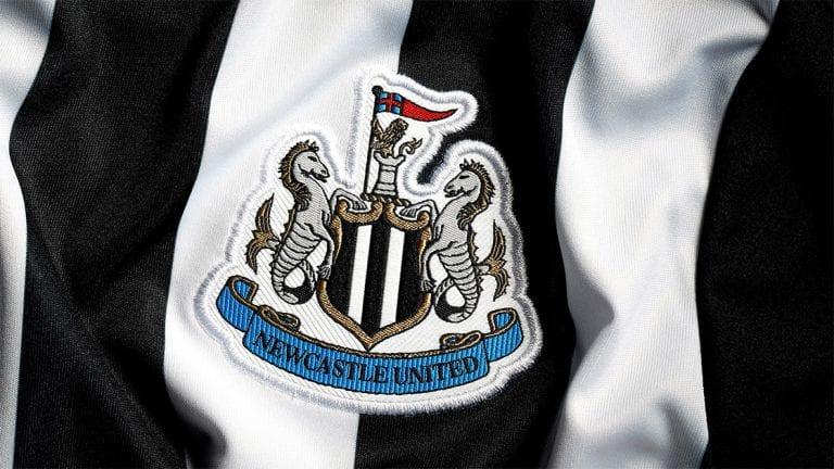 2020/21 Newcastle United Home Shirt Badge