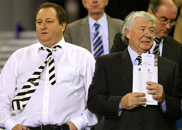 newcastle united management