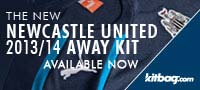 Kitbag – Newcastle United Change Kit 2013/14