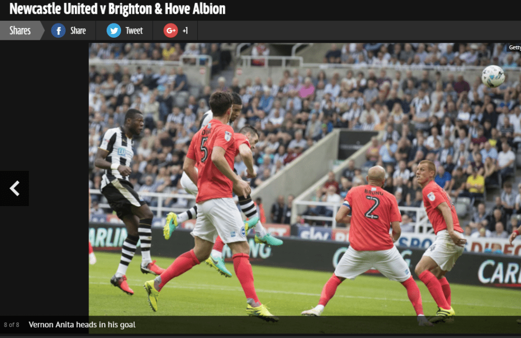 newcastle united media partner