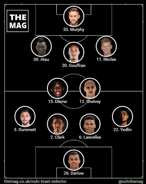 newcastle team v brighton