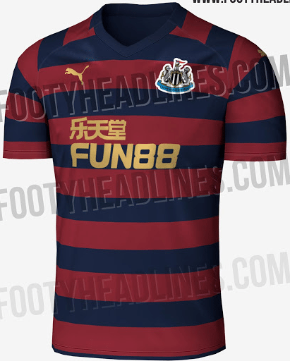 newcastle united away shirt