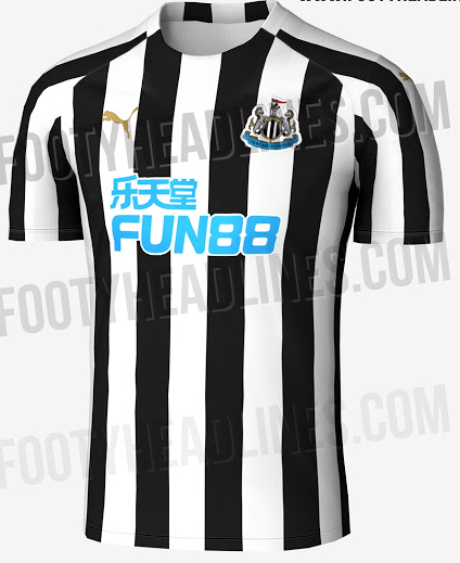 fde374e4e Exclusive claims leaked details of Newcastle United home shirt for ...