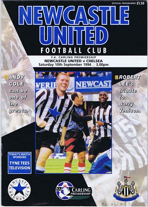 Newcastle_United_Chelsea_1994_NUFC_The_Mag_Auctions