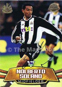 Nobby_Solano_Newcastle_United_Card_NUFC