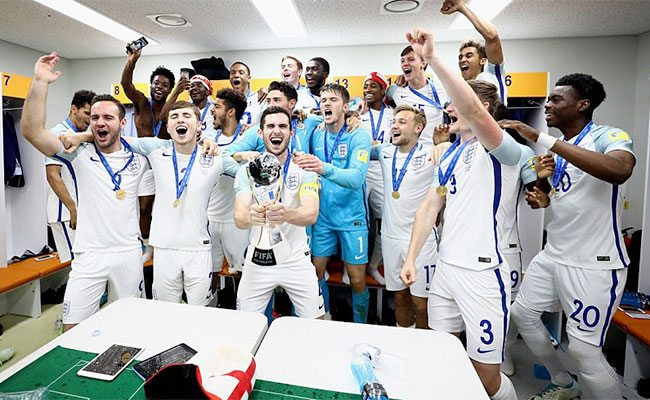 England win football World Under-20 title