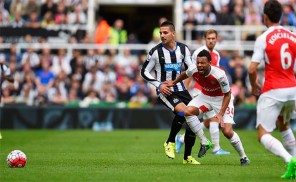 newcastle 0 arsenal 1