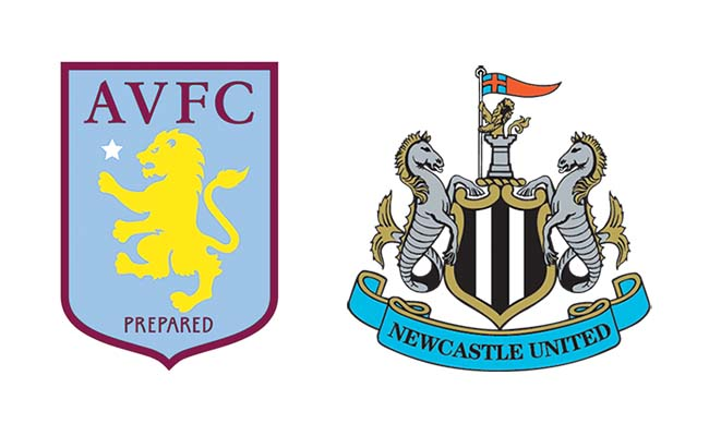 Aston Villa v Newcastle live TV