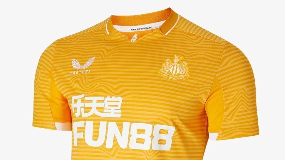 Newcastle United Away Goalkeeper Top 2021-22