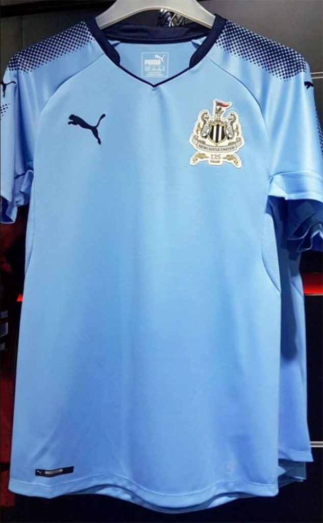 newcastle away shirt