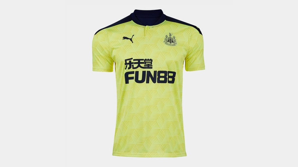 Newcastle United Away Strip 2020/21