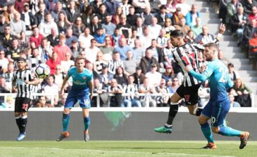 Ayoze Perez goal nominated for Premier League goal of the week