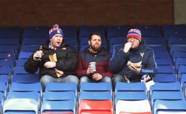 crystal palace fans