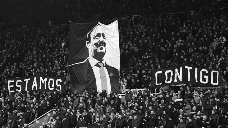 Rafa Benitez sends classy message to Steve Bruce, the Newcastle players and fans hours before Arsenal