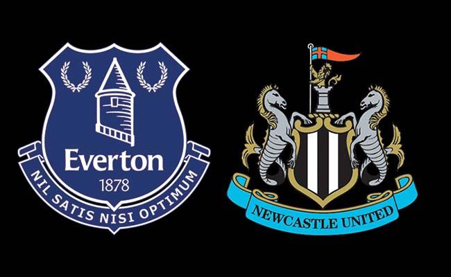 newcastle team v everton