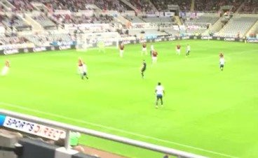 Florian Thauvin scores first goal for Newcastle v Northampton – Watch it here