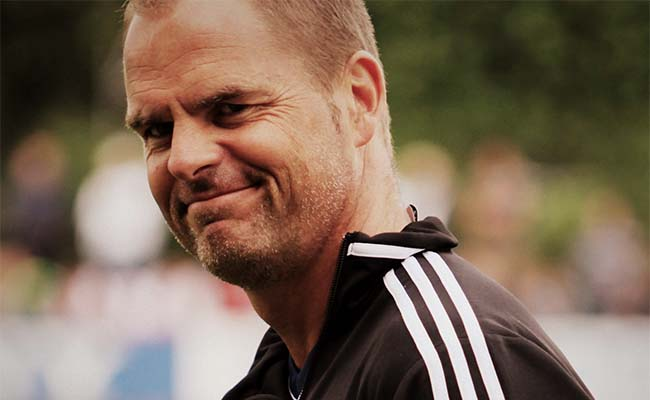 Former Inter coach de Boer is Crystal Palace coach