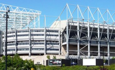 St James Park named amongst top football stadiums in Europe