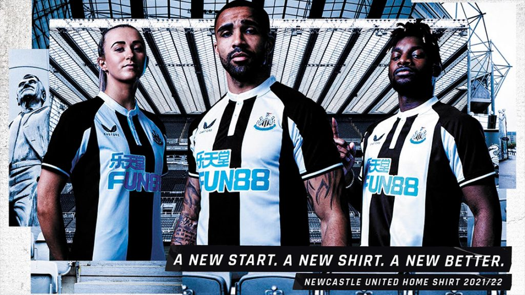 2021/22 Home Kit Launch Newcastle United