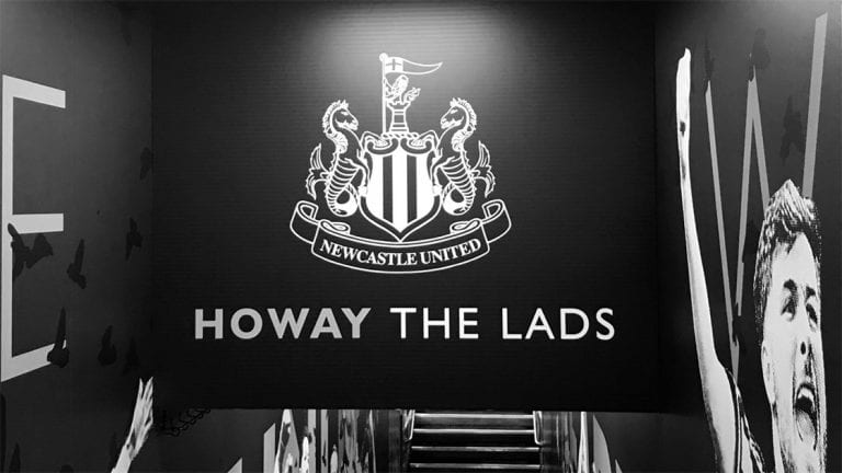 Howay The Lads St James' Park