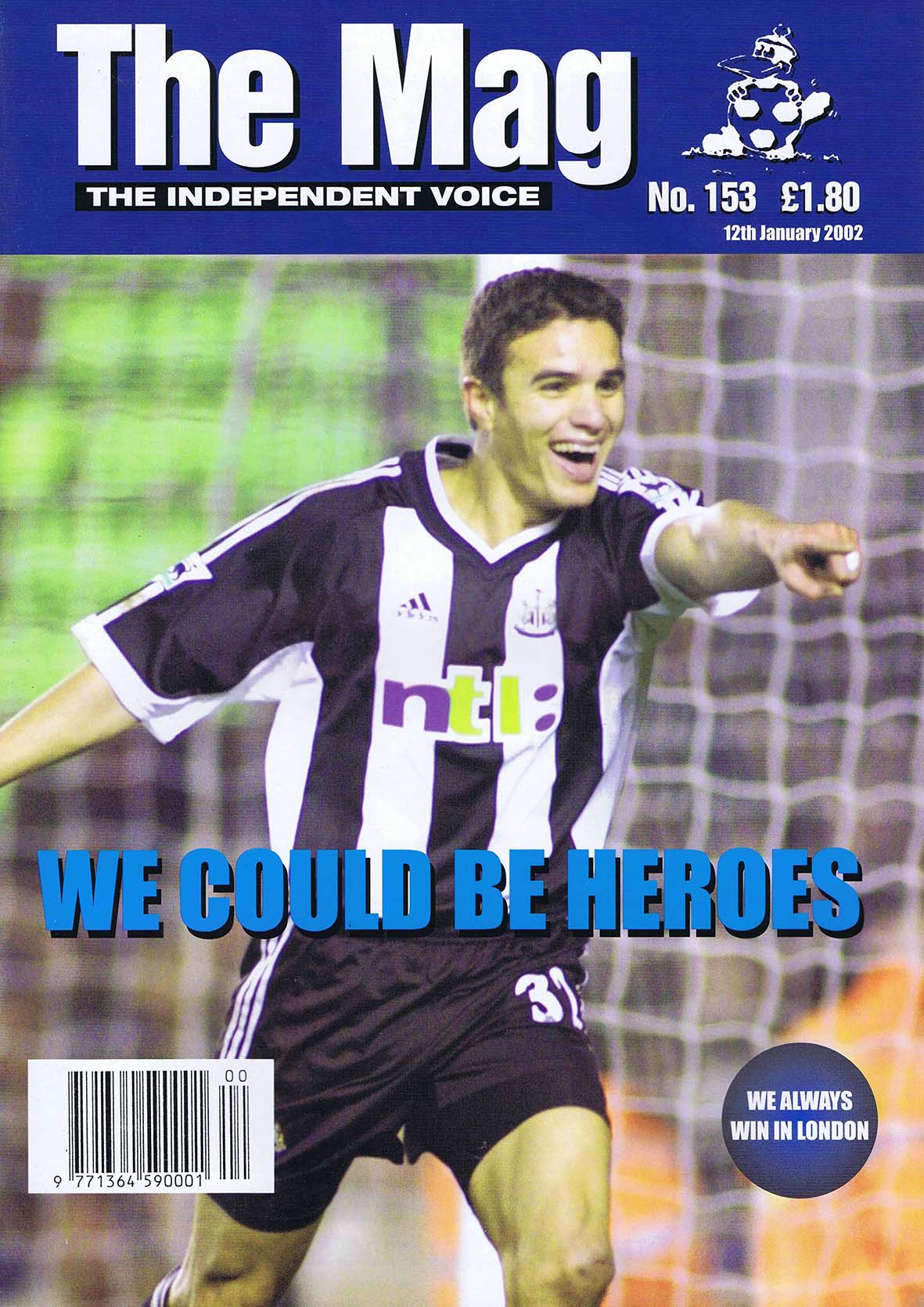 The Mag Issue 153 12 January 2002
