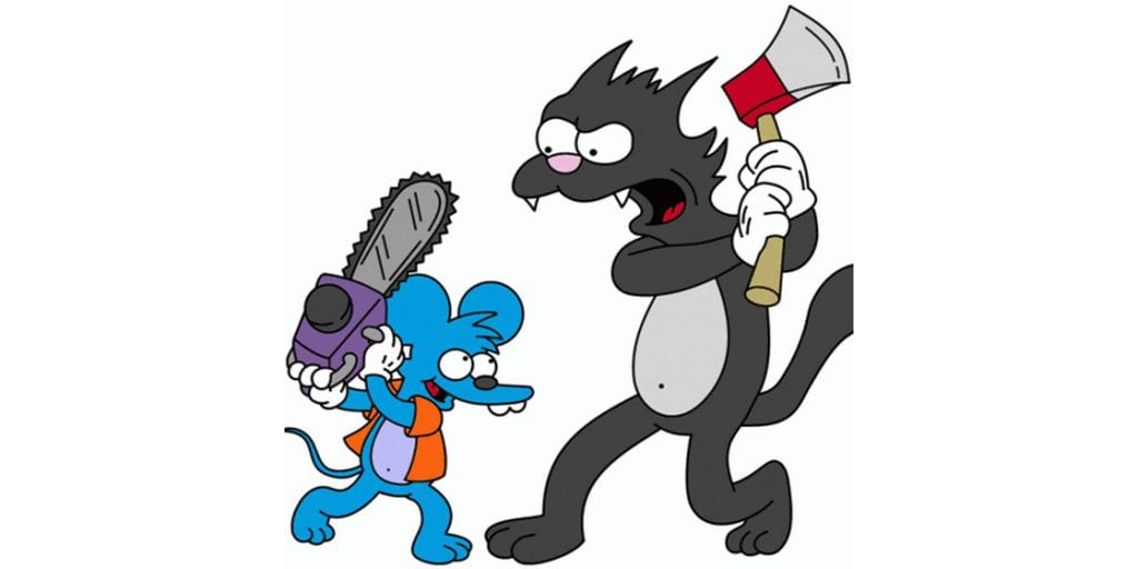 Itchy and Scratchy Cartoon