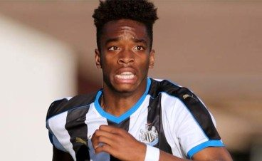 Ivan Toney Close Up Newcastle United
