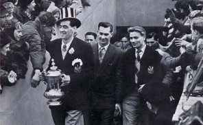 FA Cup Joe Harvey Jackie Milburn Charlie Crowe St. James' Park