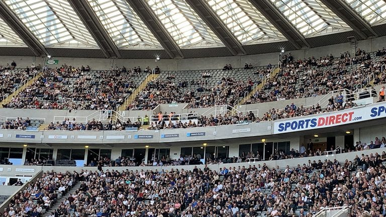 I feel sorry for the Newcastle United fans still going to the matches after seeing this