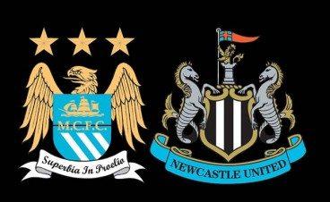 newcastle team v man city