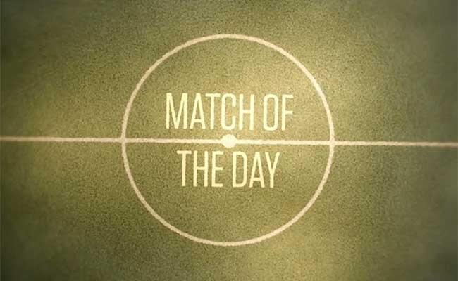 match of the day running order