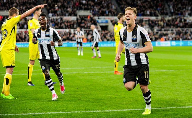 newcastle v burton player ratings