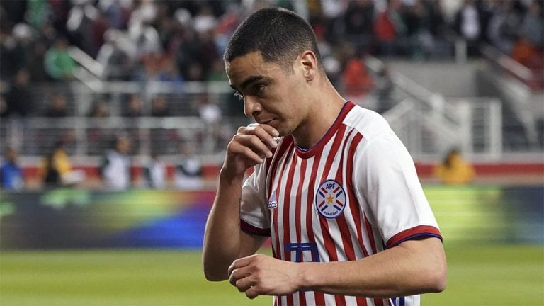 Miguel Almiron red carded again as Aleksandar Mitrovic gets last gasp winner