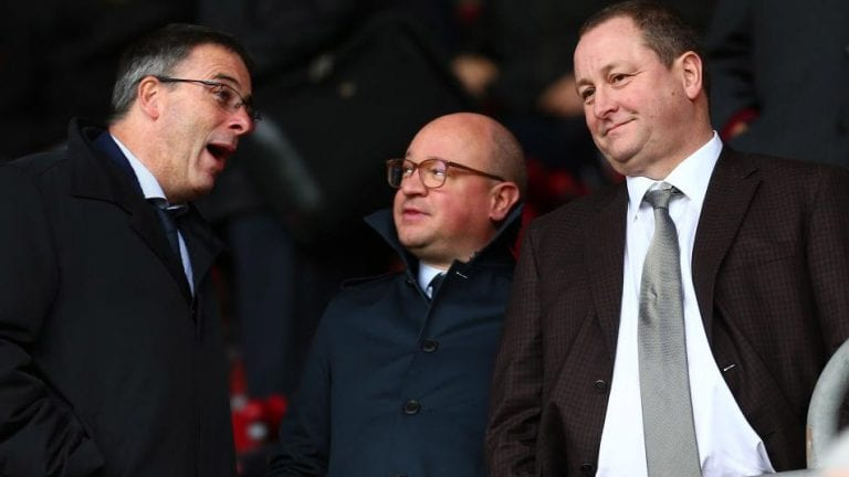 #BruceOut is the Mike Ashley goal