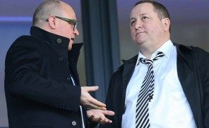 Mike Ashley Lee Charnley Newcastle United
