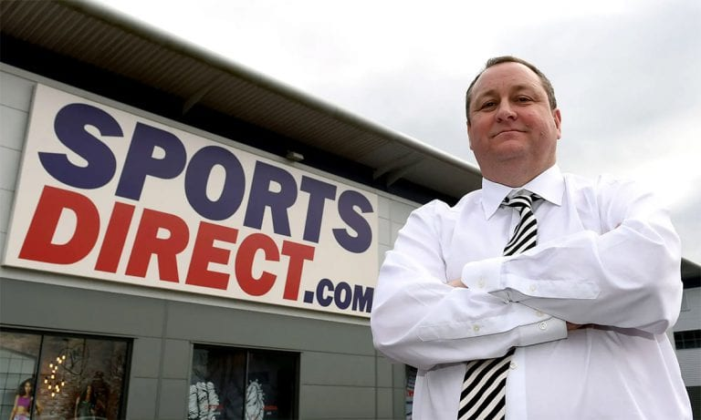 Protests and boycotts impacting on Mike Ashley and Sports Direct wealth