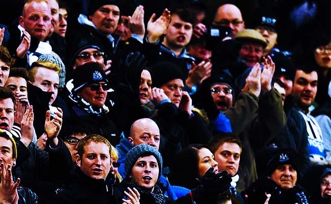newcastle fans