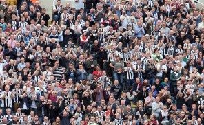 Newcastle Fans 2013 Leazes End St. James' Park