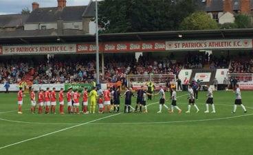 st patrick's athletic 0 newcastle united 2