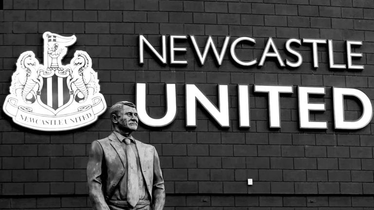 Newcastle United Bobby Robson Statue