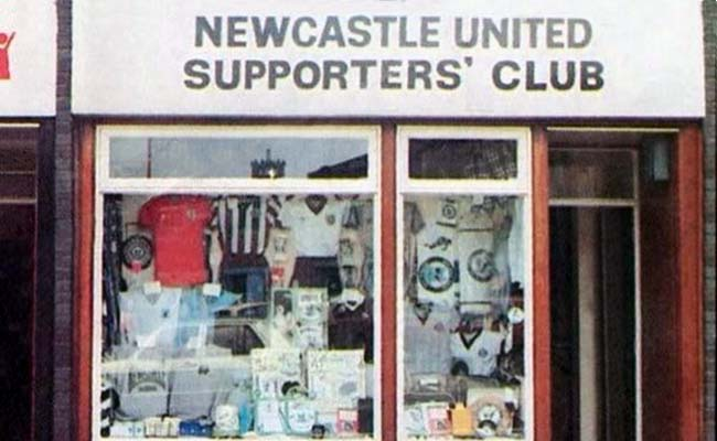 newcastle united supporters club shop