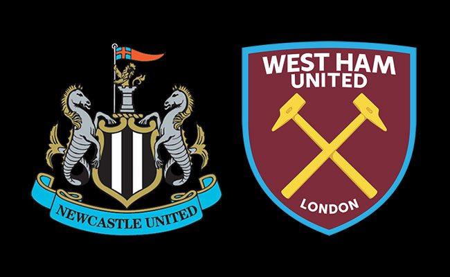 newcastle team v west ham