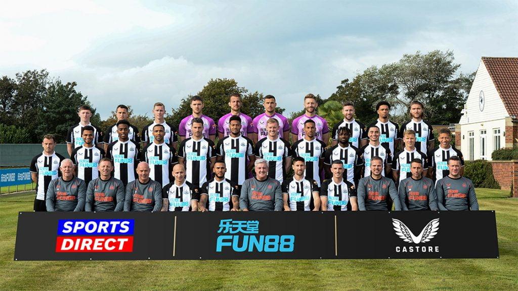 Newcastle United Team Photo