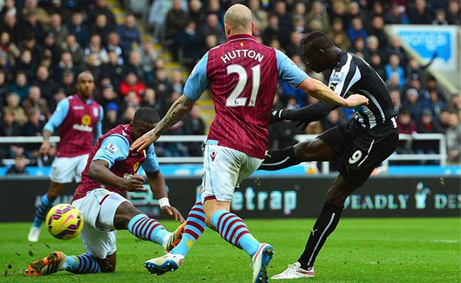 newcastle v aston villa .