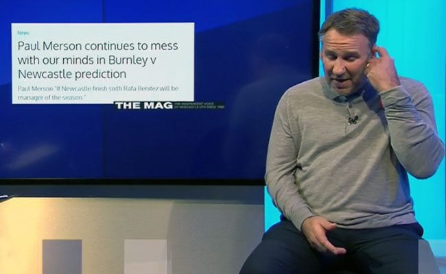 Must Read - Paul Merson confronted on Sky Sports about Newcastle