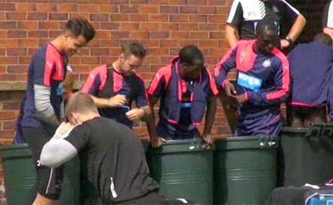 bins training ground newcastle players