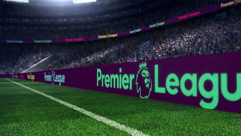 Premier League Hoarding