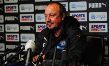 rafa benitez aston villa press conference
