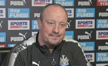 Rafa Benitez asked if he can trust Mike Ashley…""