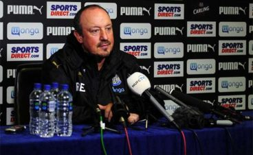rafa benitez huddersfield press conference